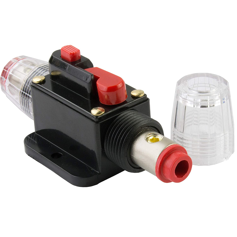 Amazon.com: Car Stereo Audio 12V Circuit Breaker Fuse Inline Fits 4 8 Gauge  Wire 20 Amp: Industrial & ScientificAmazon.com