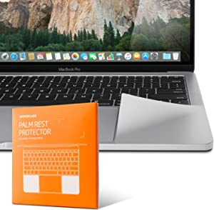 UPPERCASE Premium Palm Rest Protector Skin Cover Set for MacBook Pro 16