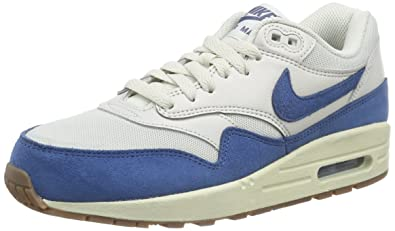 wholesale dealer a3dc6 351a7 Nike Air Max 1 Essential, Women s Low-Top Sneakers, Light Bone Brigade