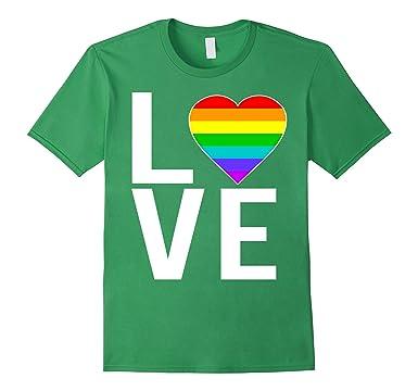 278112723507 Amazon.com: LGBT Gay Pride Love T-Shirt: Clothing