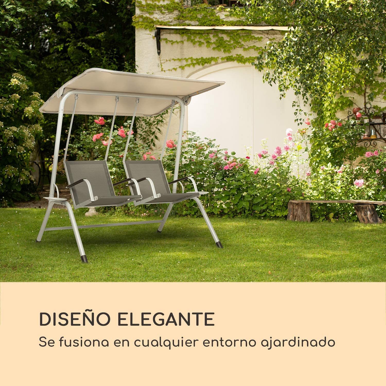 blumfeldt Bel Air Duo Swing Mecedora - para 2 Personas, Diseño Duo ...