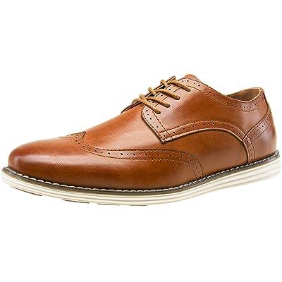 VOSTEY Men's Oxford Dress Shoes Business Casual Lace Up Shoes | Oxfords