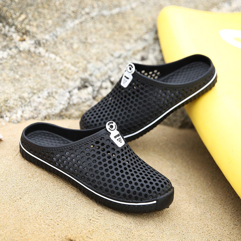 Kootk Donna Slippers Uomo Pantofole Spiaggia Scarpe Traspirante Scivolare su Sandali Adulto Pantofola Zoccoli A Passeggio Giardino Acqua Scarpe Bianca 43 RjZENtxk