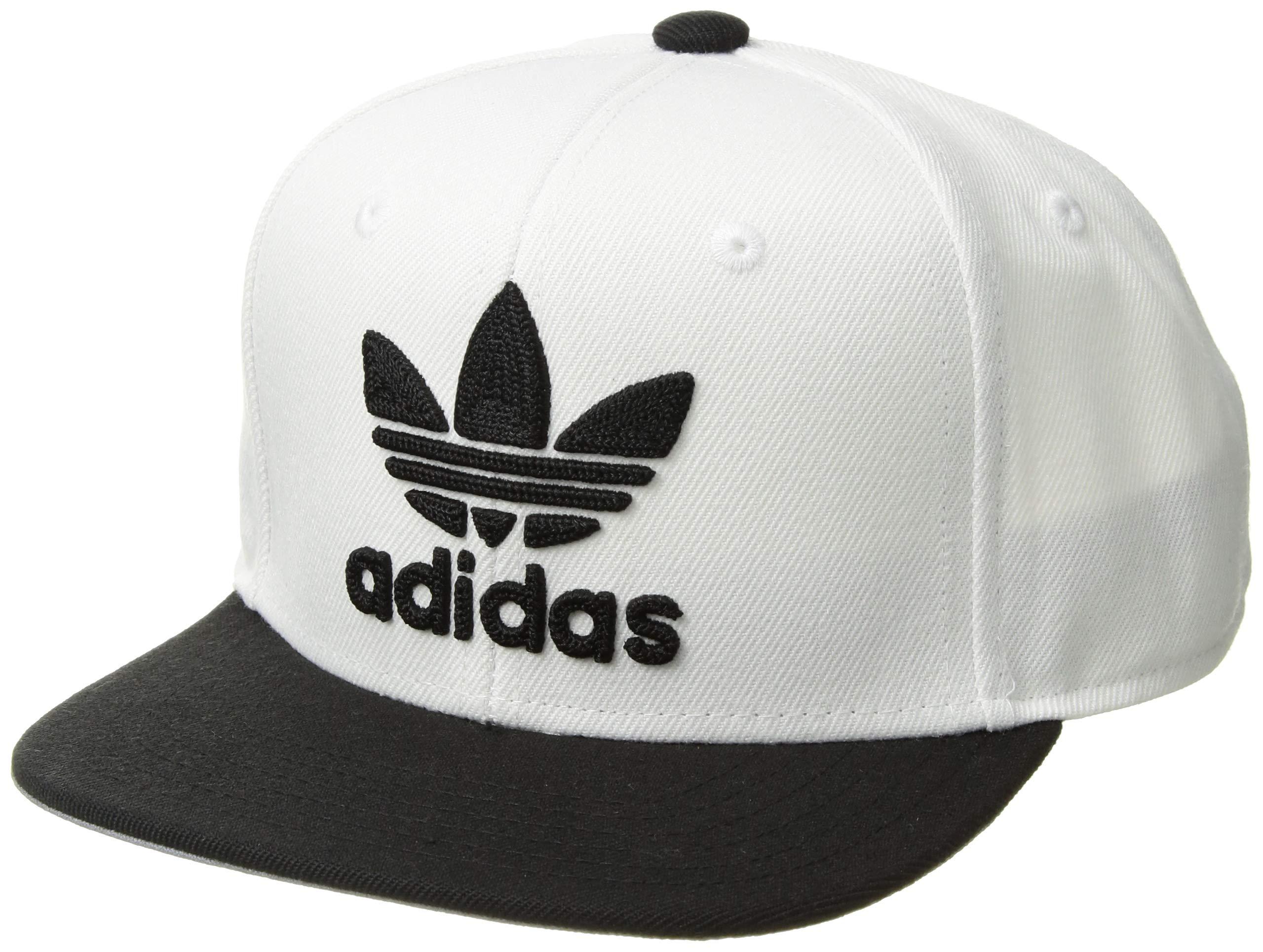 fb4012d4398 Galleon - Adidas Boys   Youth Originals Trefoil Chain Snapback Cap ...
