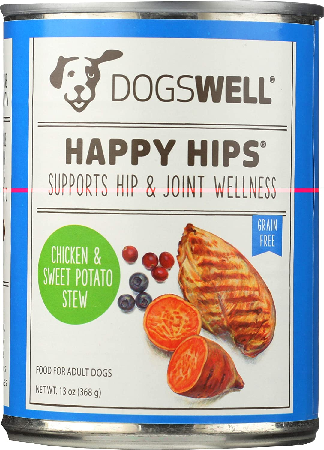 Dogswell, Happy Hips, Canned Food, Chicken & Sweet Potato, 13 oz