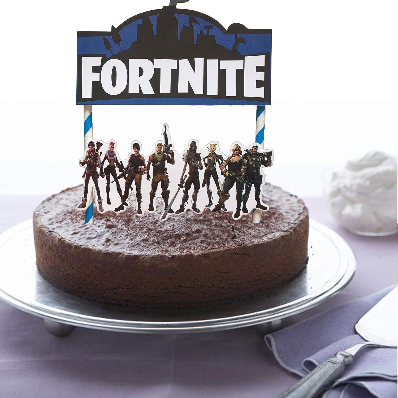 Amazon BestBalloons Fortnite Video Game Cake Topper