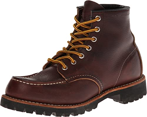 8. Red Wing Heritage Men's Roughneck Lace-Up Boot