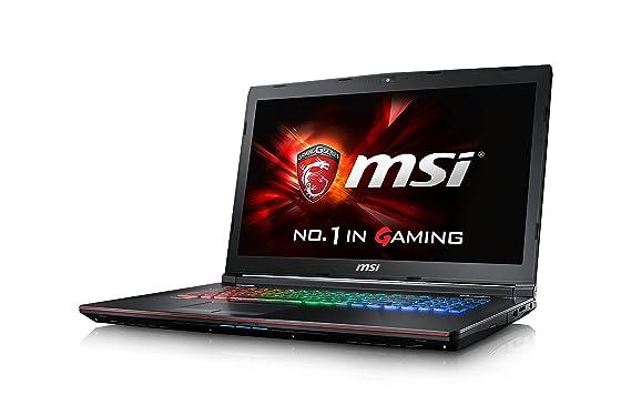 MSI Gaming GE72 6QD(Apache Pro)-007ES - Ordenador portátil (i7-6700HQ, DVD±RW, Touchpad, Windows 10 Home, Ión de litio, 64-bit): Amazon.es: Informática