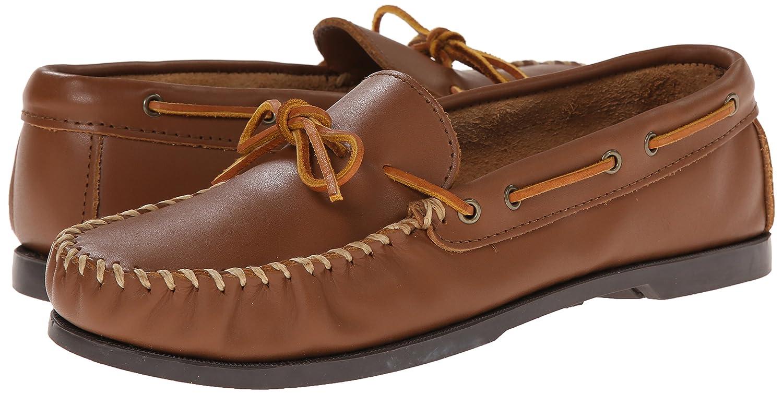 Minnetonka 742X Camp Moc, Mocasines para Hombre, Marrón (Maple), 47 EU: Amazon.es: Zapatos y complementos