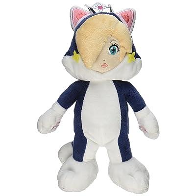 "Little Buddy Super Mario 3D World 9.5"" Neko Cat Rosalina Stuffed Plush: Toys & Games"