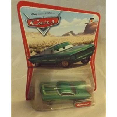 Disney Pixar Cars Series 1 Original Green Ramone 1:55 Scale Die Cast Car: Toys & Games
