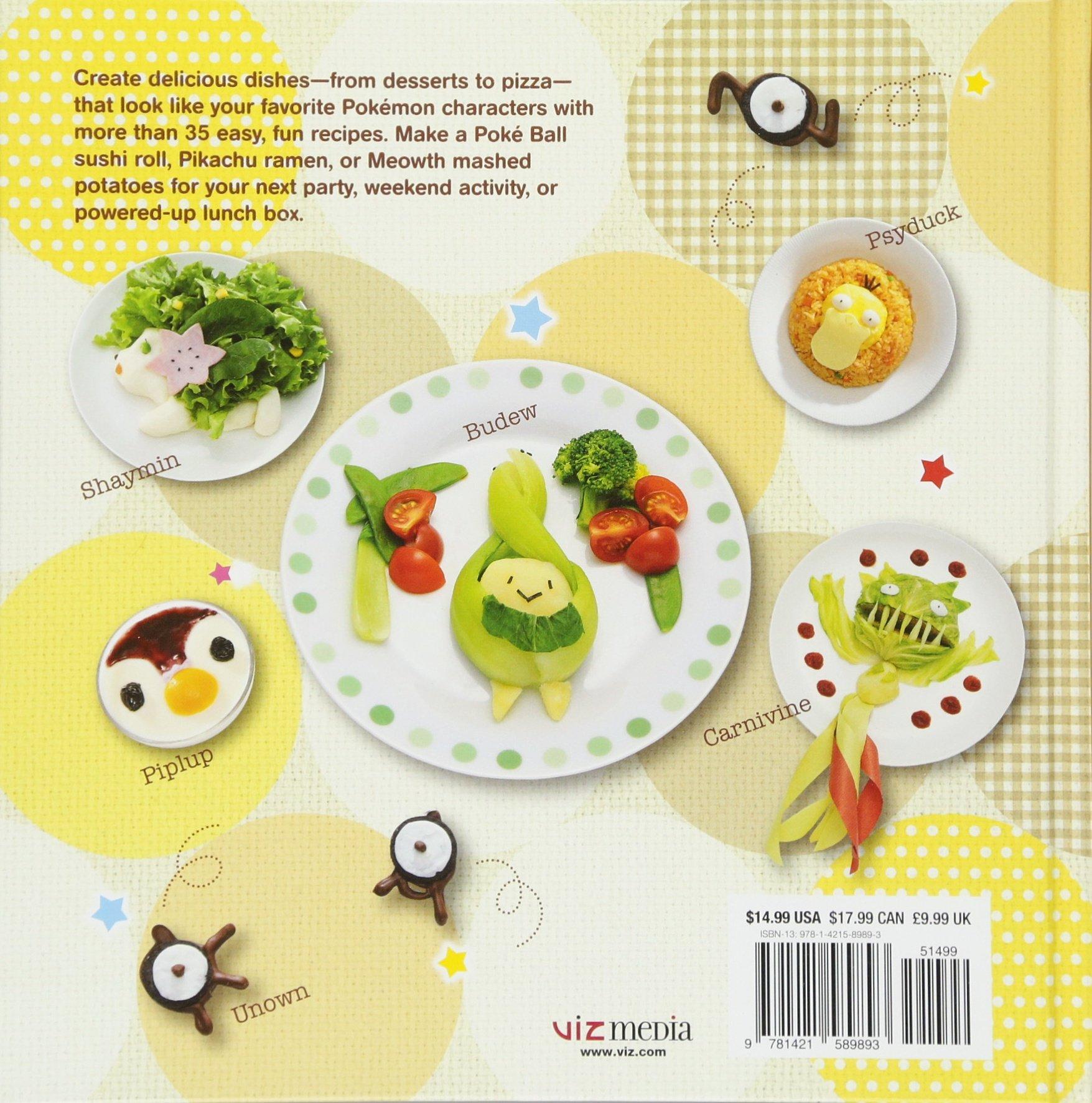 Amazon The Pokemon Cookbook Easy Fun Recipes 9781421589893 Maki Kudo Books