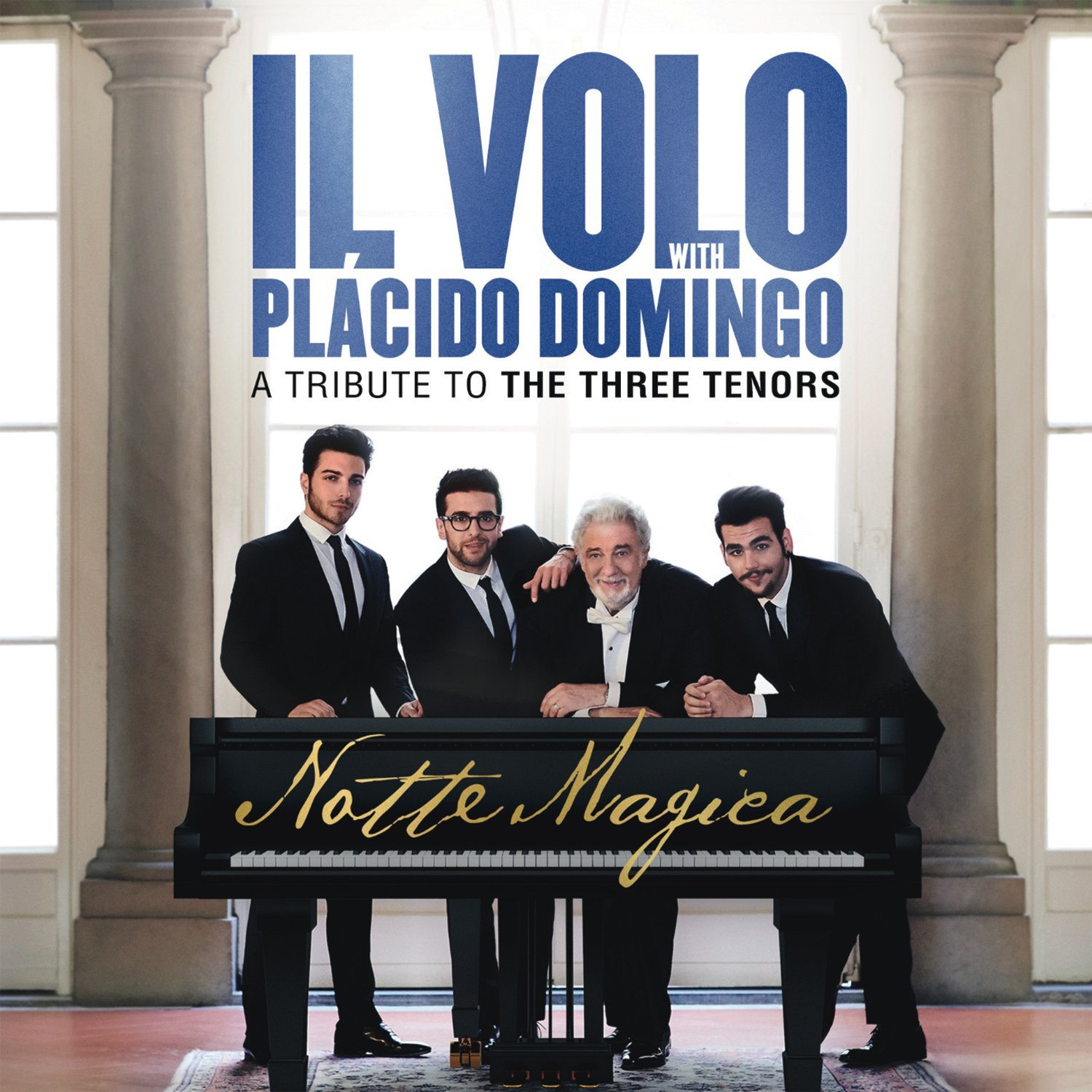 CD : Il Volo - Notte Magica - A Tribute to the Three Tenors (CD)