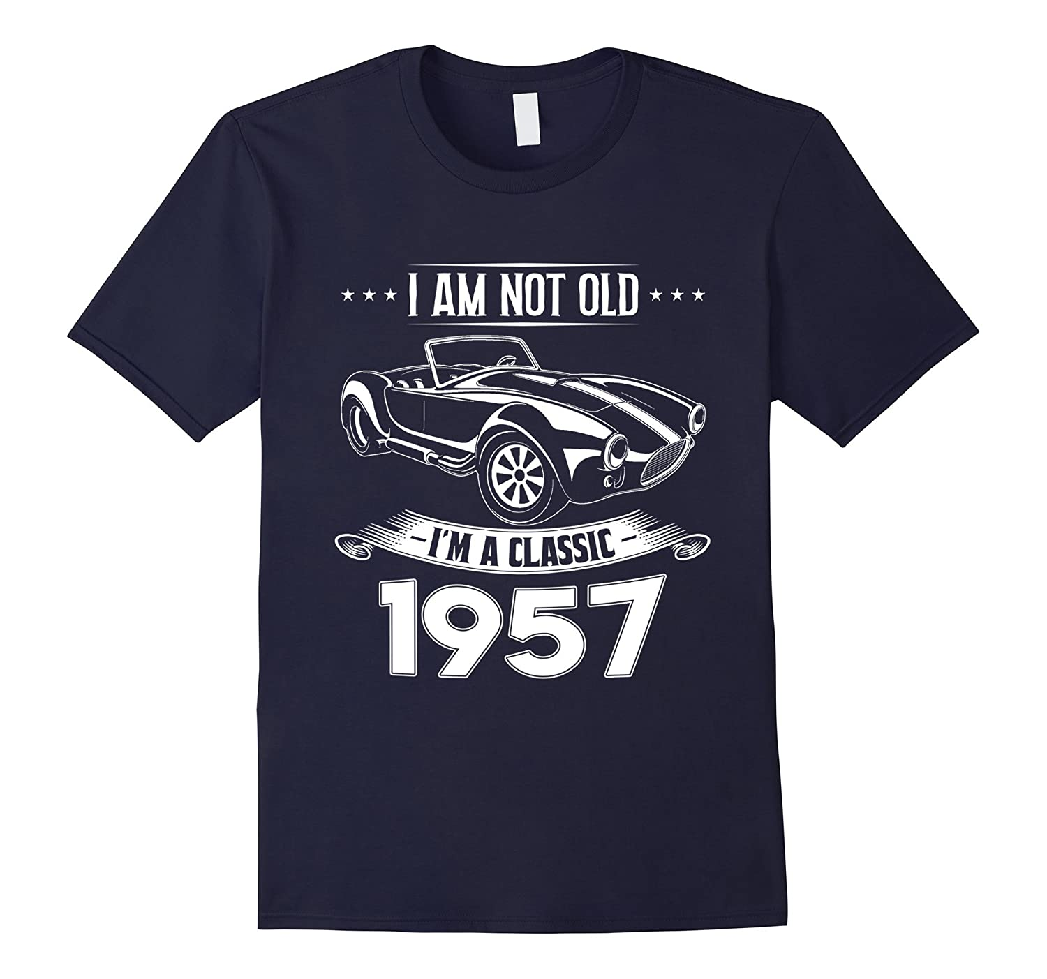 60 Years old Gifts Classic 1957 60th Birthday Tshirt-FL