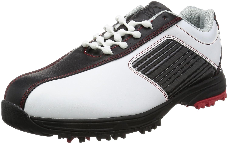 [キャスコ] ゴルフスパイクシューズ  KMSS-1612 B01G71JJW0 25.0 cm 4E ホワイト/ブラック