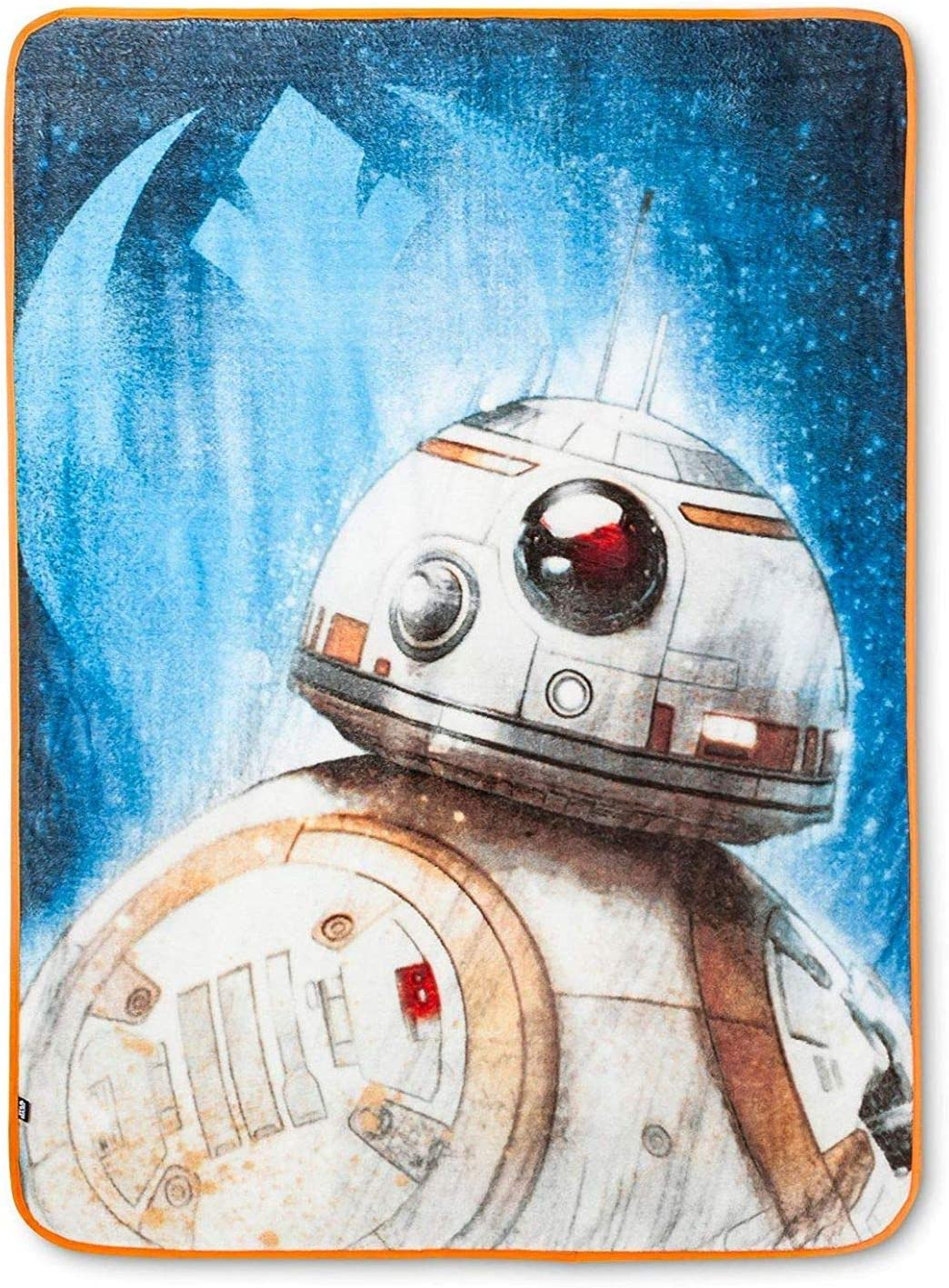 Jay Franco Star Wars Ep 8 Resistance Throw Blanket, Blue