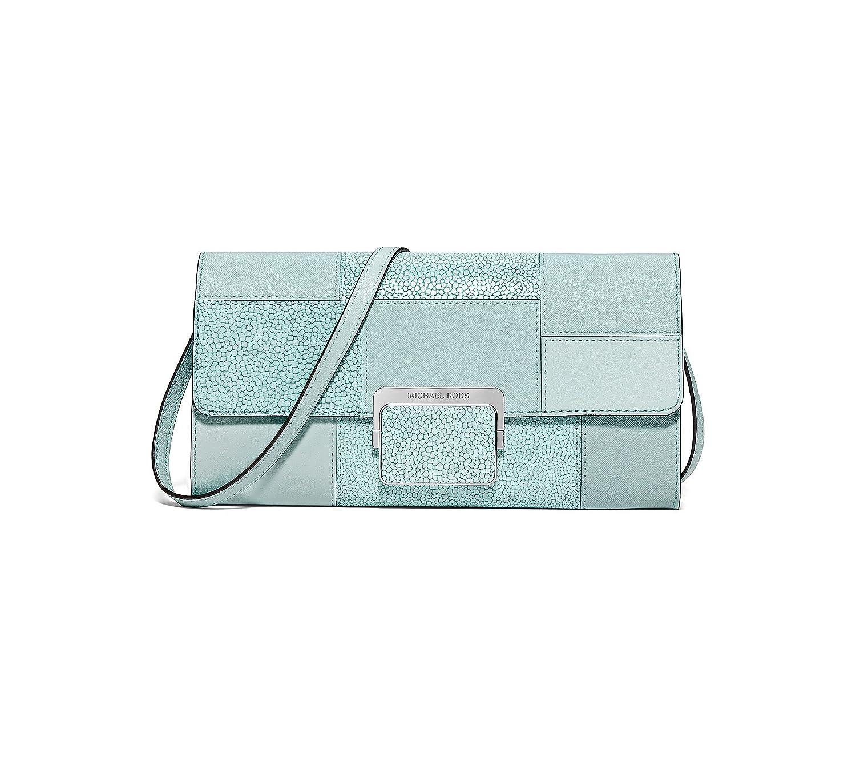 e04c3d021f566d MICHAEL Michael Kors Cynthia Large Clutch Celadon Clutch Handbags:  Amazon.ca: Shoes & Handbags