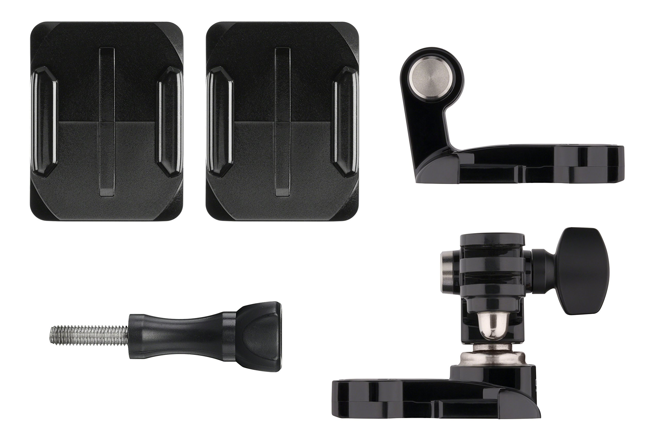 GoPro Helmet Front + Side Mount (All GoPro Cameras) - Official GoPro Mount by GoPro