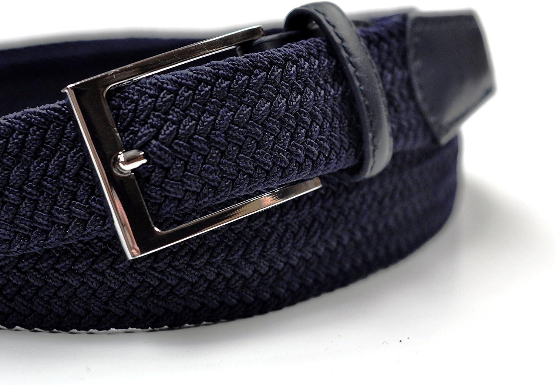 Ashford Ridge 33mm cintur/ón el/ástico negro azul o crema tama/ños 81cm - 152cm 1.25