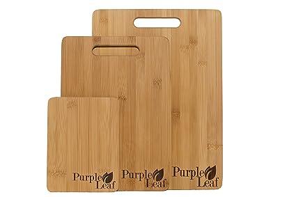 ♻ Tagliere in bambù &#x267B, Set 3 taglieri di alta qualità ...