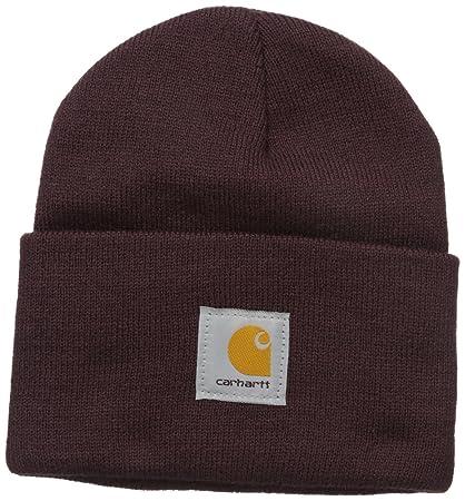 Carhartt Mujer Gorra Acrílico - Deep Wine sombrero invierno esquiar mujeres CHWA018643-One Size