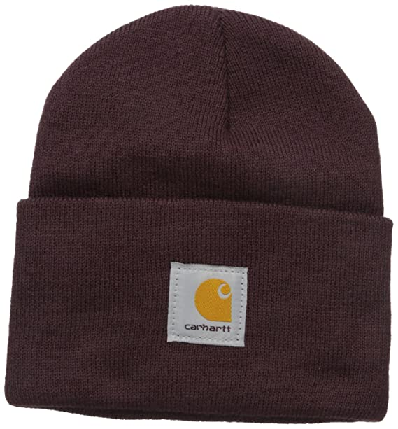 9b4eccf0c6d Amazon.com  Carhartt Women s Acrylic Rib Knit Watch Hat
