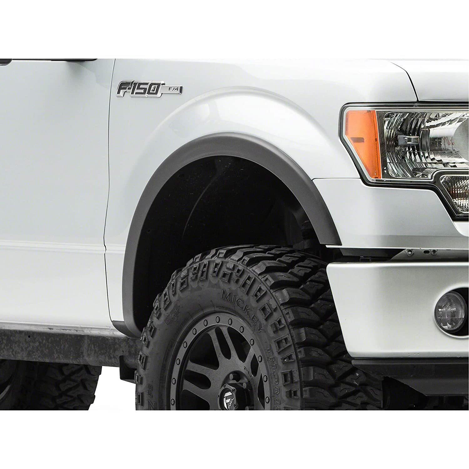 Duratrek Factory Style Replacement Fender Flares for F-150 with OE Fender Flares 2015-2017