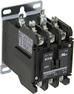 "Eaton C25DND330B Definite Purpose Contactor, 50mm, 3 Poles, ... on 3 pole solenoid wiring diagrams, 3 pole definite purpose contactor, reversing single phase motor wiring diagram, valve wiring diagram, hvac defrost switch diagram, 3 pole switch diagram, power transformer wiring diagram, 3 pole double throw contactor, single phase reversing contactor diagram, square d motor starter wiring diagram, motor star delta starter diagram, magnetic motor starter wiring diagram, 8145 20"" electric defrost diagram, 3 phase motor connection diagram, 3 pole relay diagram, 208 3 phase wiring diagram, 3 pole contactor air conditioning, 3 pole relay 120v, 3 pole electrical switch wiring, relay wiring diagram,"
