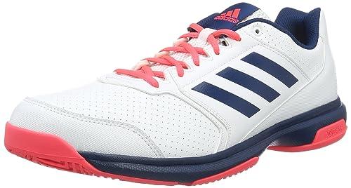 online store aa7e2 27f99 adidas Adizero Attack, Zapatillas de Tenis para Hombre Amazon.es Zapatos  y complementos