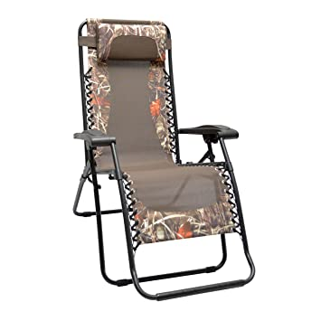 Caravan Sports Infinity Zero Gravity Chair Camouflage