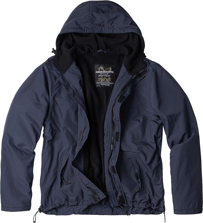 Surplus Windbreaker Zipper Outdoor Jacke