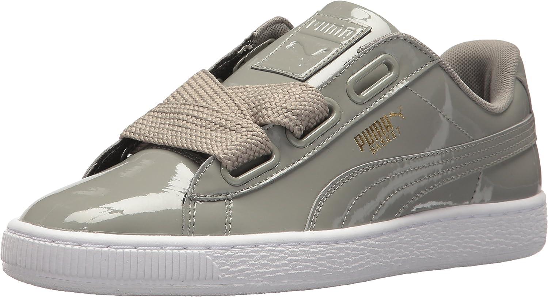 PUMA Women's Basket Heart Patent Wn Sneaker: