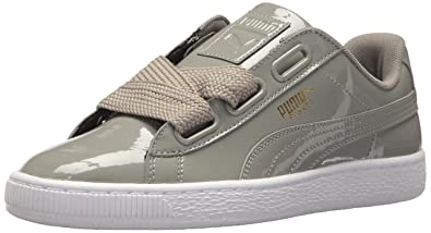 new arrival 79137 60396 PUMA Women's Basket Heart Patent