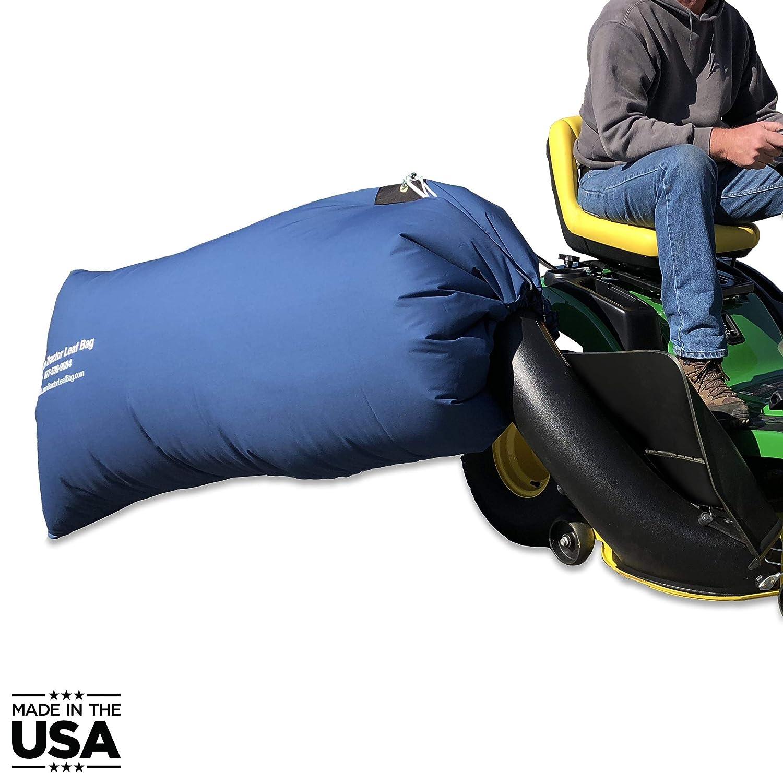 Bolsa para Hojas de Tractor de césped, 90 galones. Bolsa con Kit ...