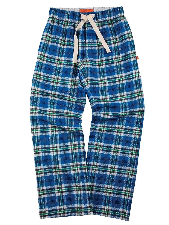 Mini Vanilla Unisex Blue Check Lounge Pants