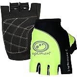 Optimum Men's Nitebrite Half Finger Gloves