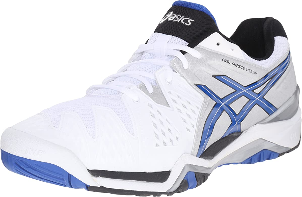 Amazon.com: ASICS GEL-Resolution 6 calzado de tennis para ...