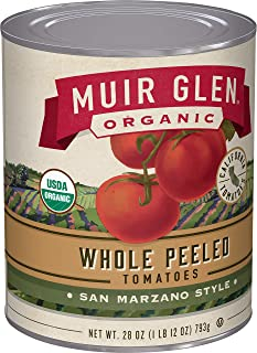 product image for Muir Glen, Organic Whole Peeled Plum Tomatoes, 1.75 Pound (Pack of 12)