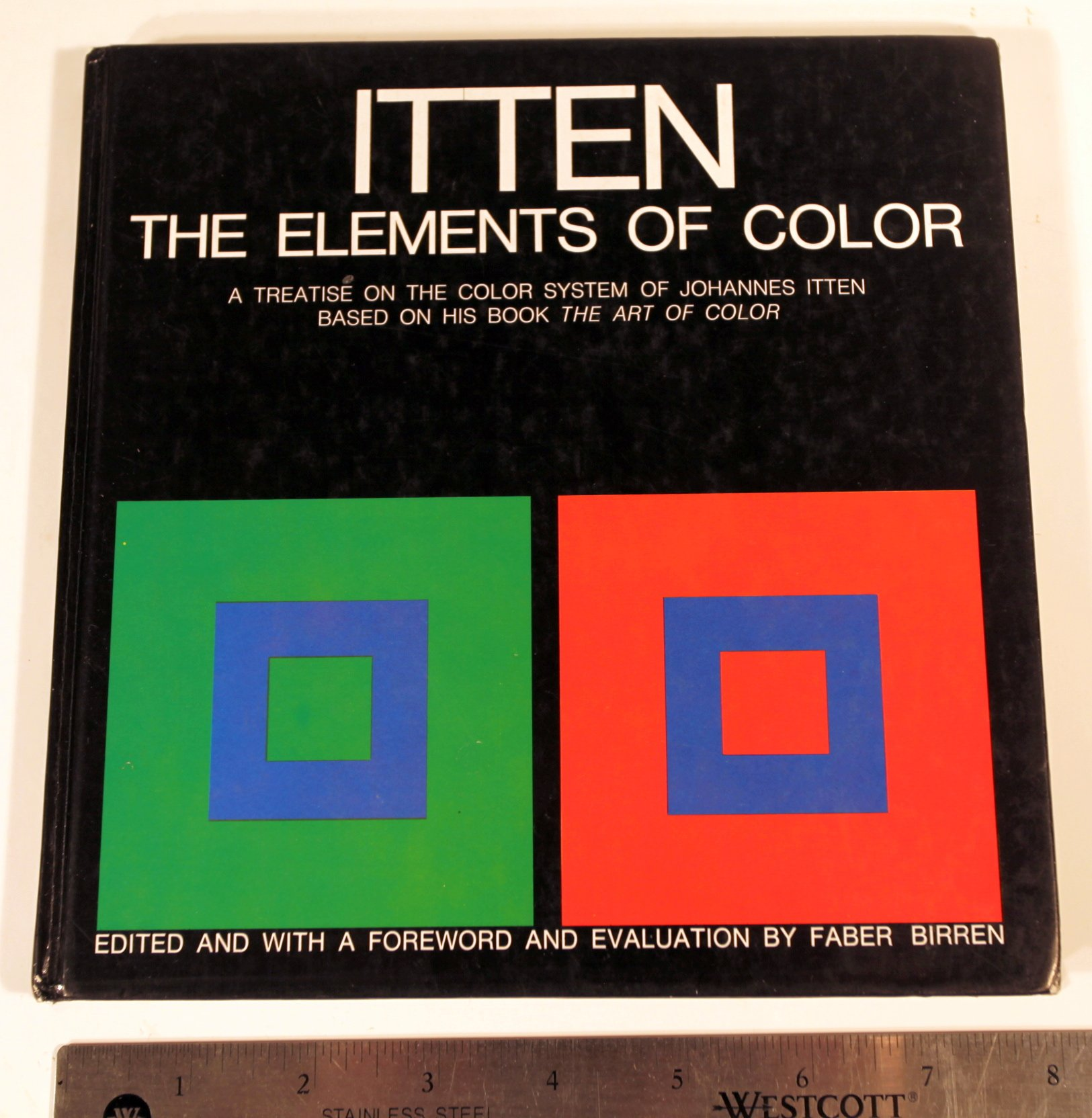 The Elements of Color: Amazon.co.uk: Johannes Itten, Faber Birren ...