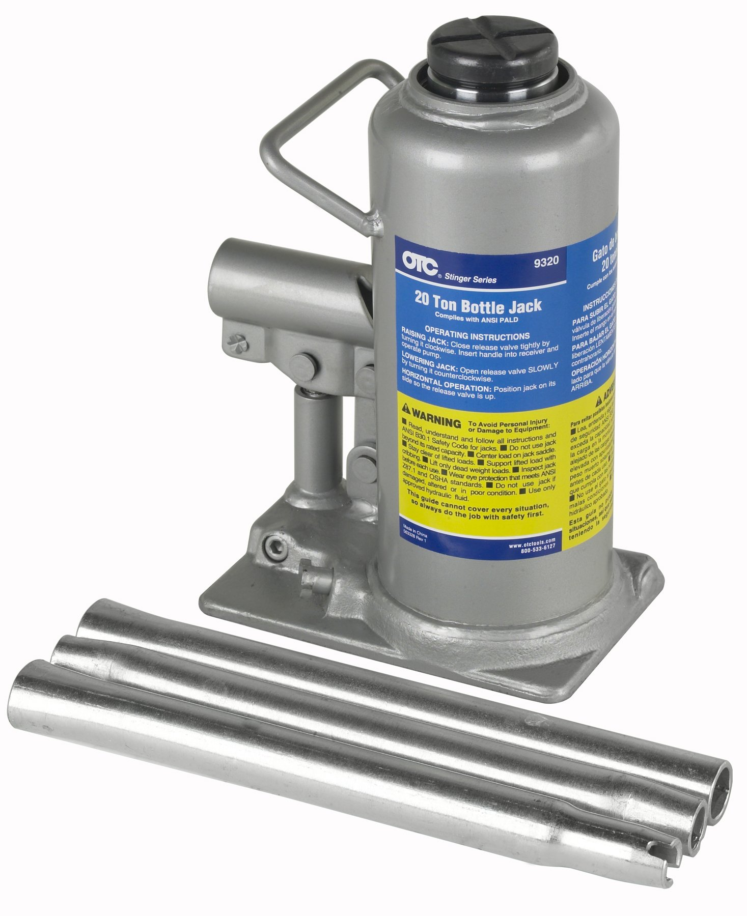 OTC (9320 Stinger 20 Ton Bottle Jack