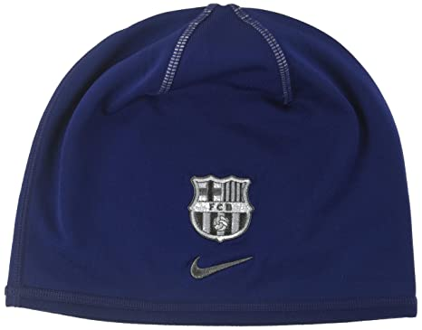 0c9d831a7d6b3 Amazon.com   2016-2017 Barcelona Nike Training Beanie (Loyal Blue ...