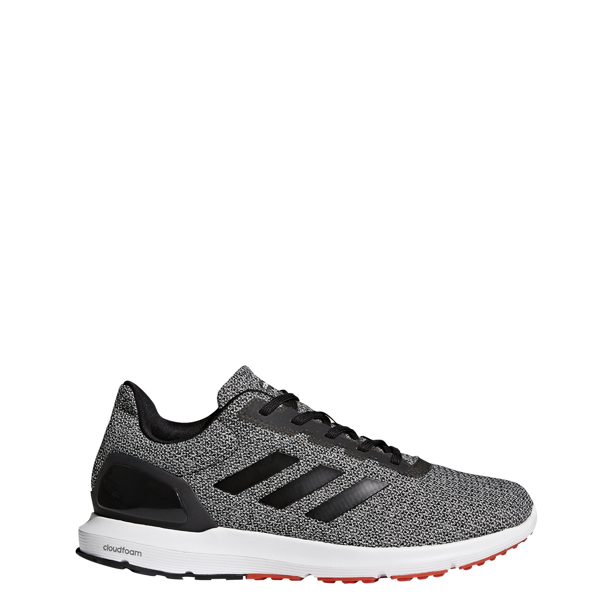 adidas Men's Cosmic 2 Sl m Running Shoe, Black/Black/Core Red, 10.5 Medium US