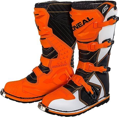 HEYBERRY O Neal Rider Boot MX Stivali Nero Motocross Cross Moto Enduro /1 0329/