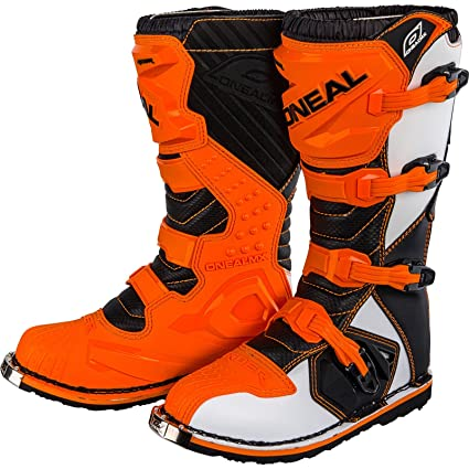 4fa61814505 HEYBERRY O  Neal Rider Boot MX Cross Botas Naranja Motocross ...