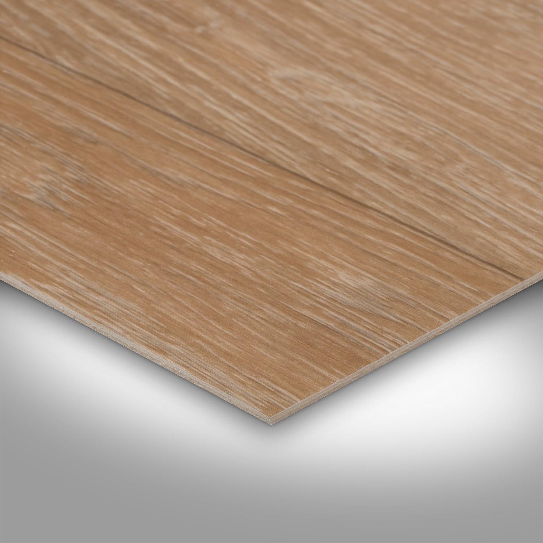 Holzoptik Schiffsboden Diele Eiche 300 400 cm breit BODENMEISTER BM70439 Vinylboden PVC Bodenbelag Meterware 200