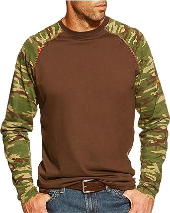 Amazon.com  Ariat Mens Fr Baseball Tee  Clothing 196c30a2f