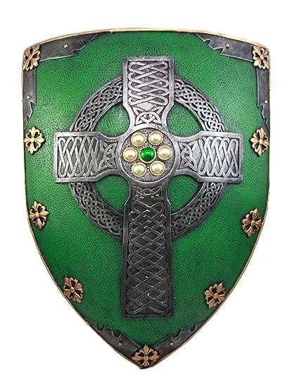 8559e0d120c Image Unavailable. Image not available for. Color  Atlantic Collectibles  Large Saint Patrick Celtic Warrior ...