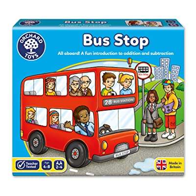 Bus Stop Board Game: Toys & Games