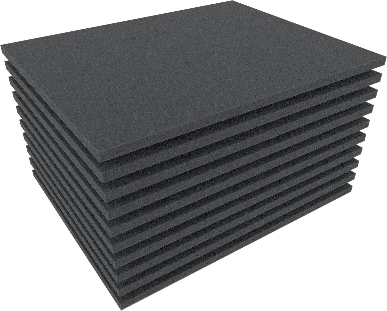 0,4 Inch Figure Foam Tray full-size Bottom // Topper Set 10 mm Feldherr FS010B 10 pcs