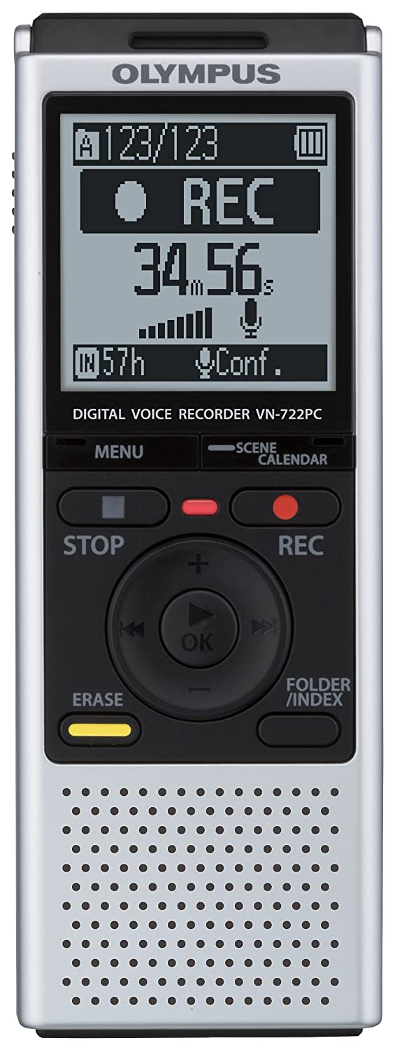 Olympus Vn 722pc Voice Recorders 4 Gb Built In Memory Simple Telephone Recorder Electronics
